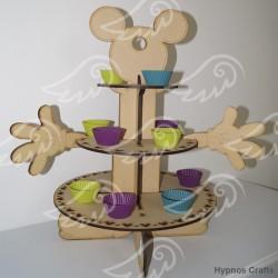 Porta cupcake Mickey